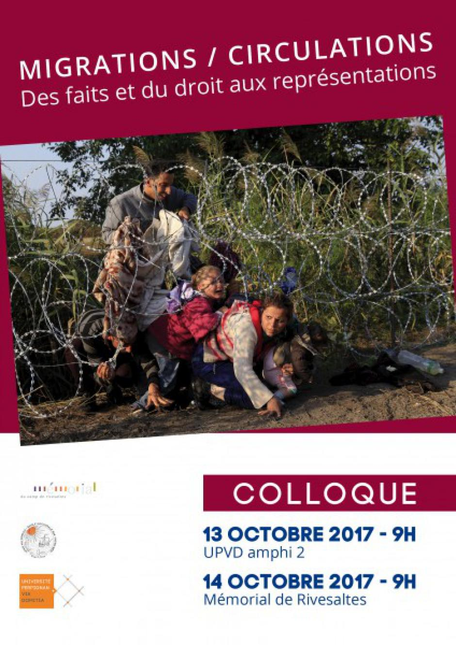 Colloque Migrations / Circulations