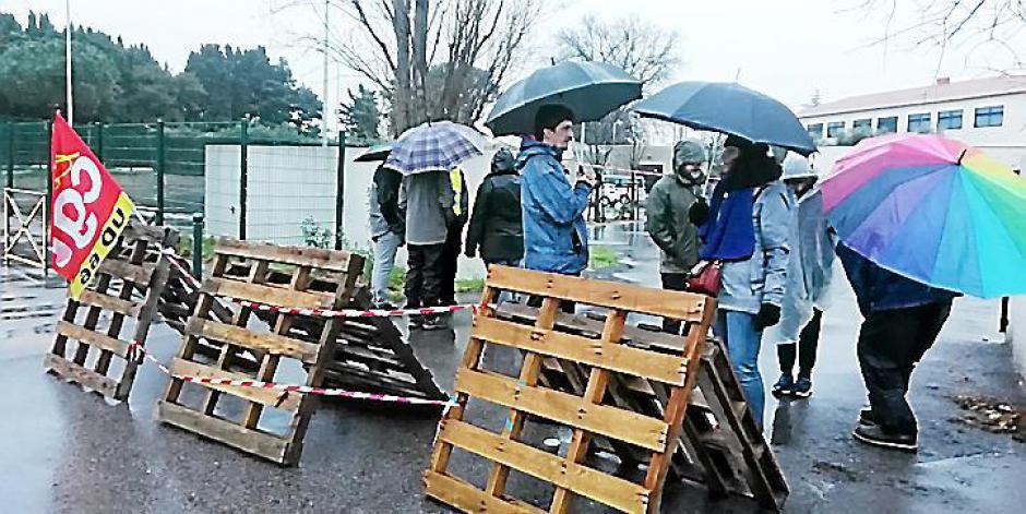 Thuir. La pluie n'a pas arrêté les manifestants
