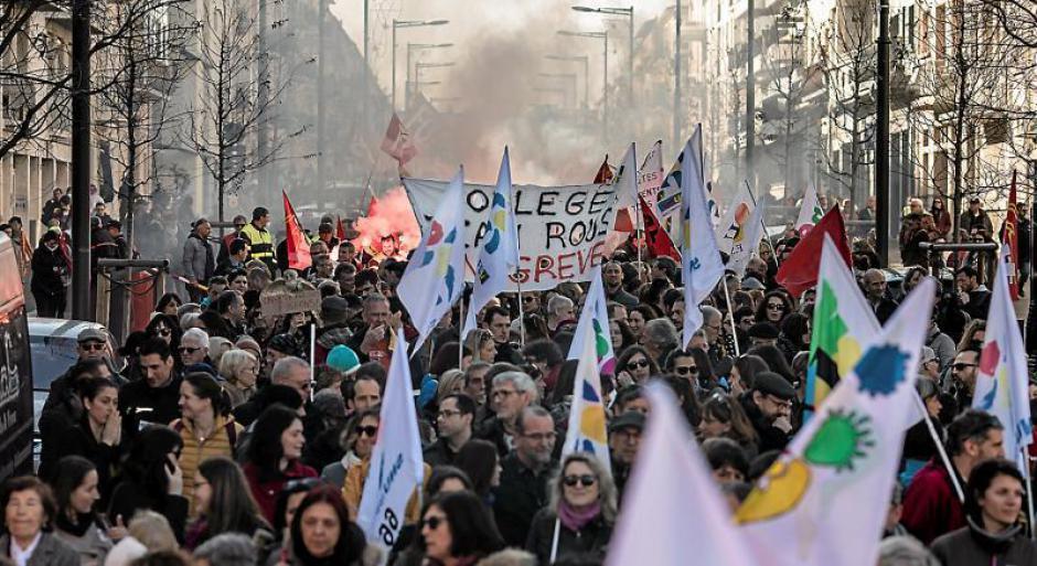 Jour de grève à Perpignan. « Cette réforme, c'est l'arnaque du siècle »