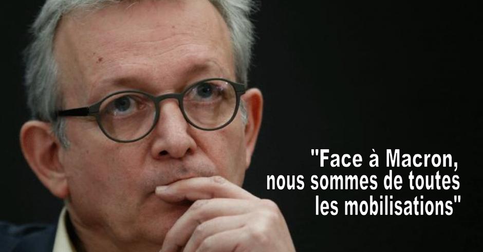 Face à Macron, nous sommes de toutes les mobilisations