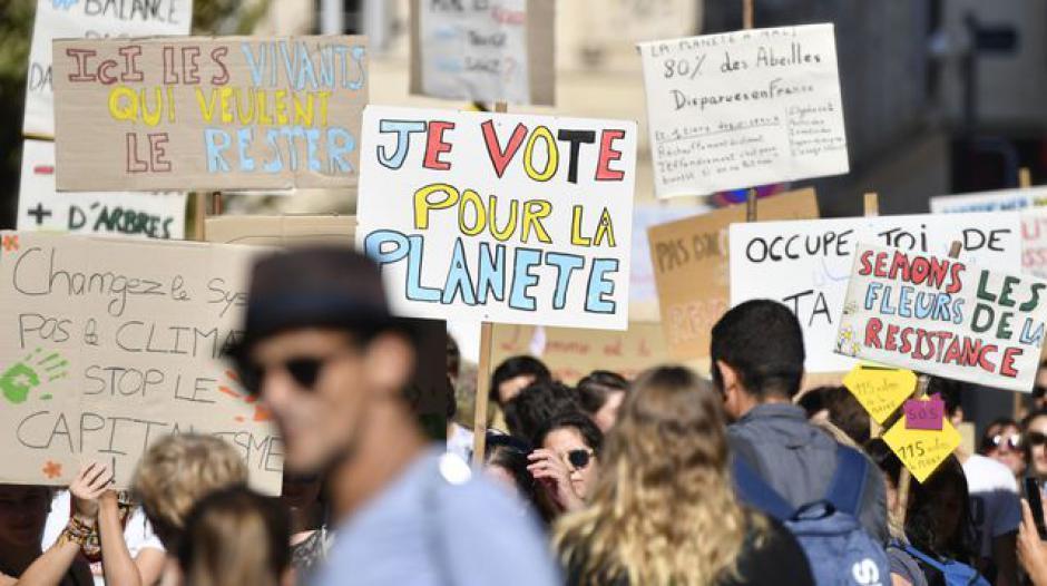 Climate Alarm marche citoyenne pour le climat 66