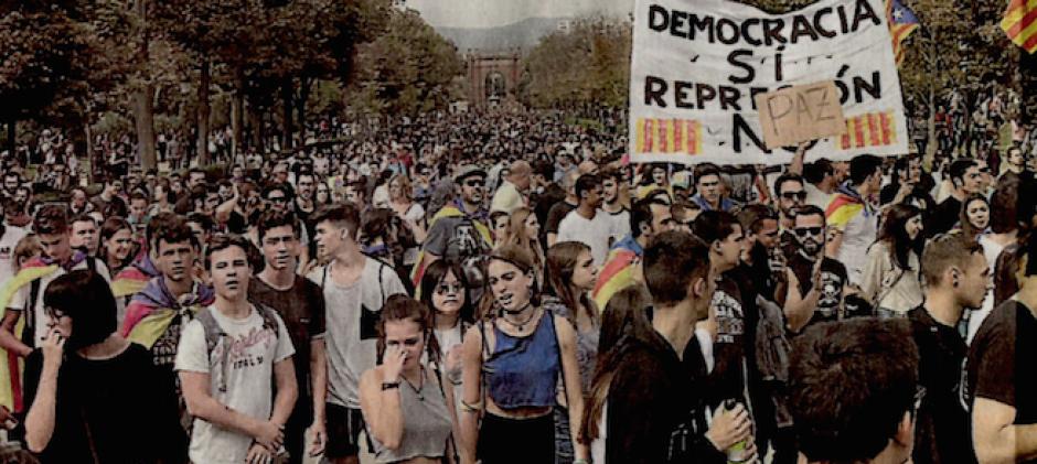 Les Catalans mettent la pression dans la rue