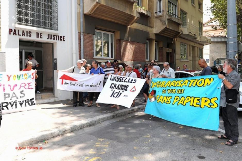 Appels du comité de soutien aux sans-papiers de Perpignan