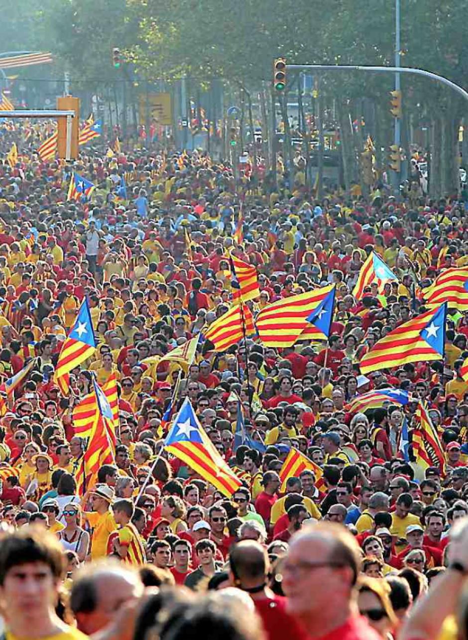 Diada : « Cap a Barcelona » pour le CDR Vallespir-Albères