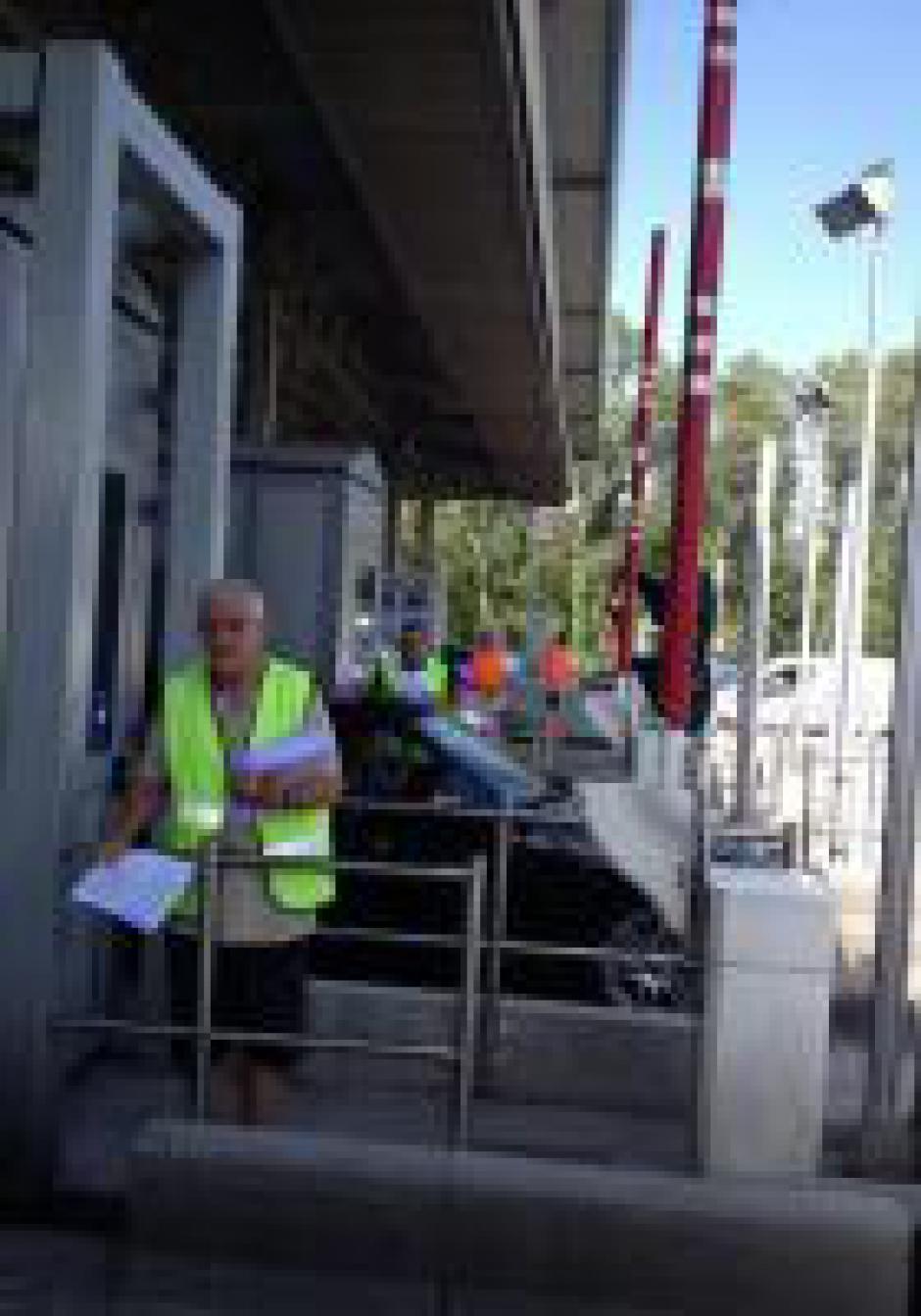 Les communistes catalans aux péages d'autoroute