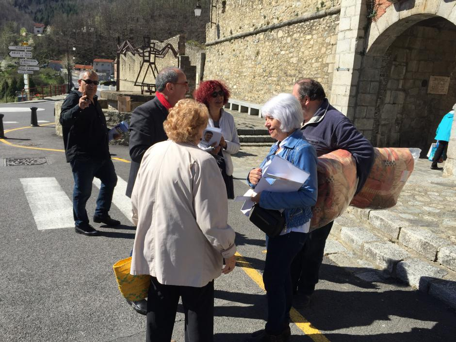Vendredi 7 mars, une journée de campagne électorale dans le Haut Vallespir