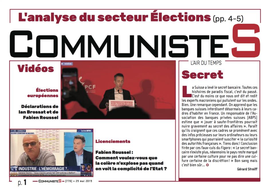 CommunisteS n°770
