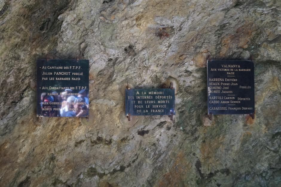 Commémoration du massacre de Valmanya. L'album photos