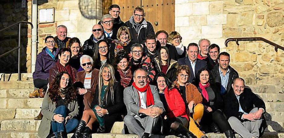 Municipales à Elne. Réunion publique de la liste « Elne comm'une idée neuve avec Nicolas Garcia »