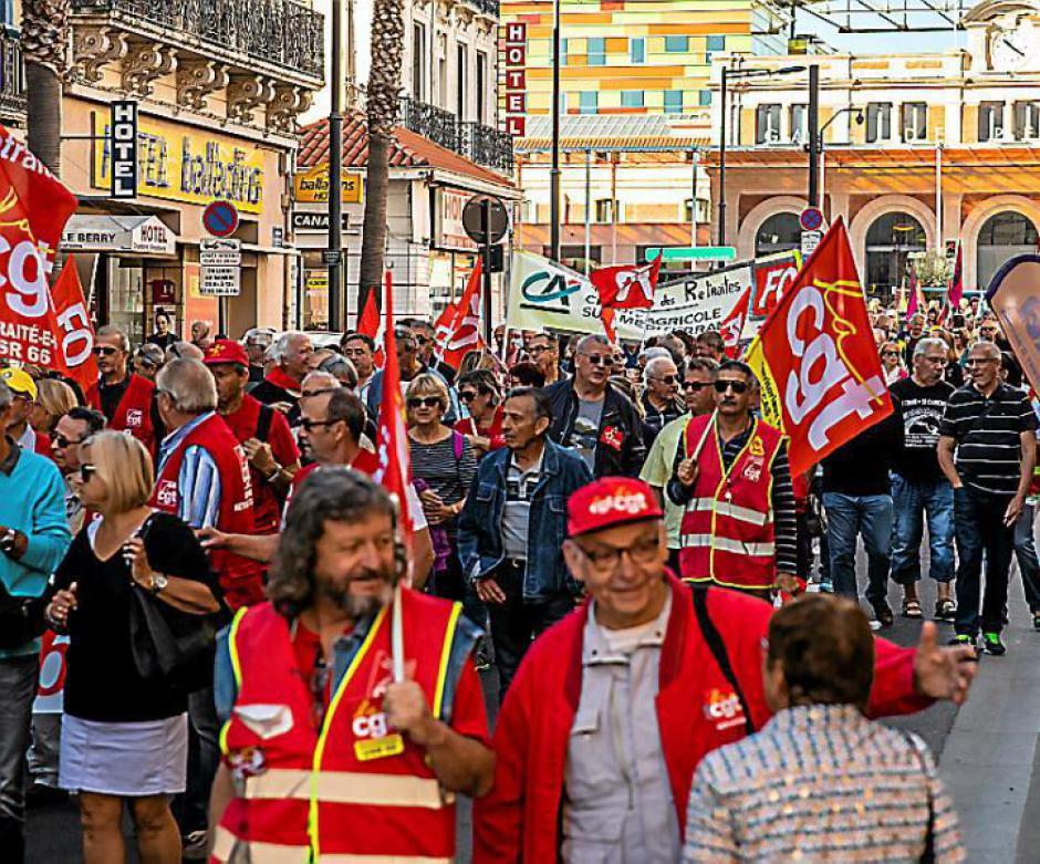 Perpignan. 400 retraités en colère dans la rue