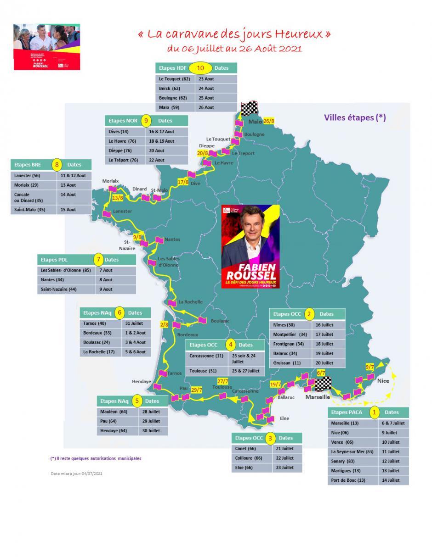 La Caravane des Jours Heureux arrive dans les Pyrénées-Orientales
