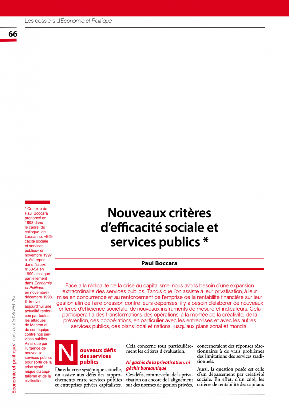 Services publics | PCF fr