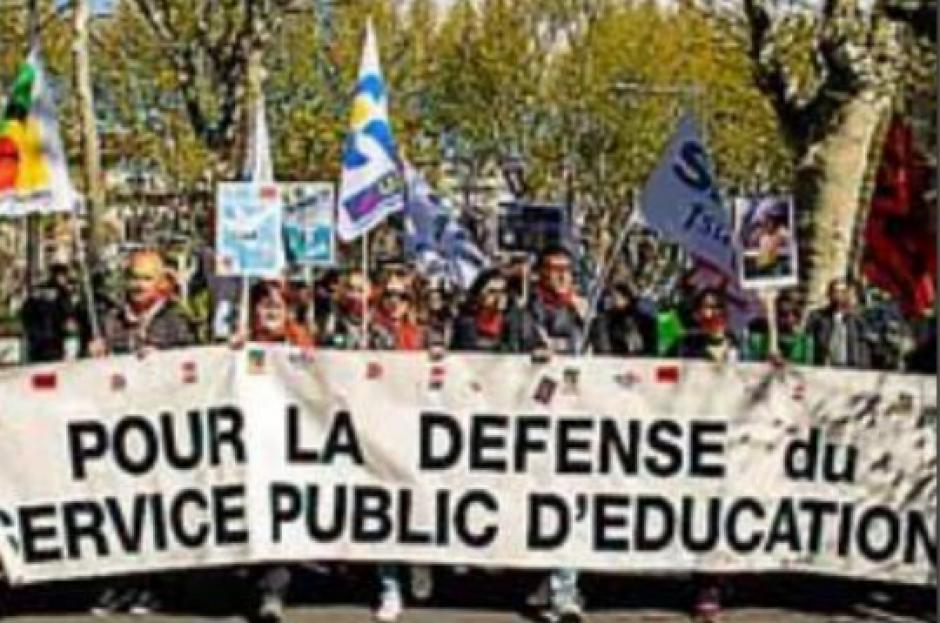 180 enseignants dans la rue à Perpignan contre la loi Blanquer