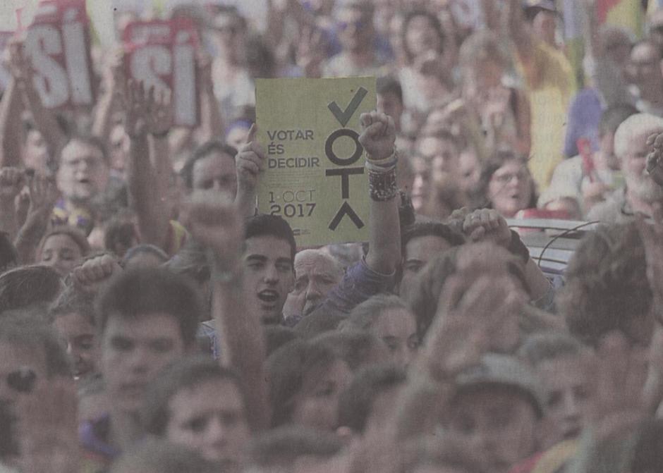 Face au coup de force espagnol les citoyens ne faiblissent pas