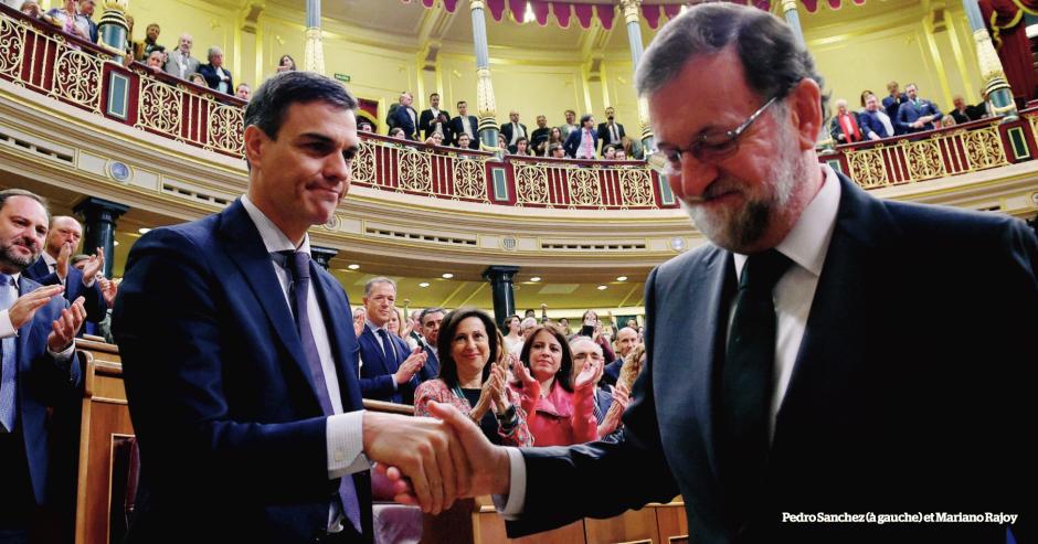 Espagne. Coup de poker à Madrid, Rajoy remplacé par le socialiste Sanchez
