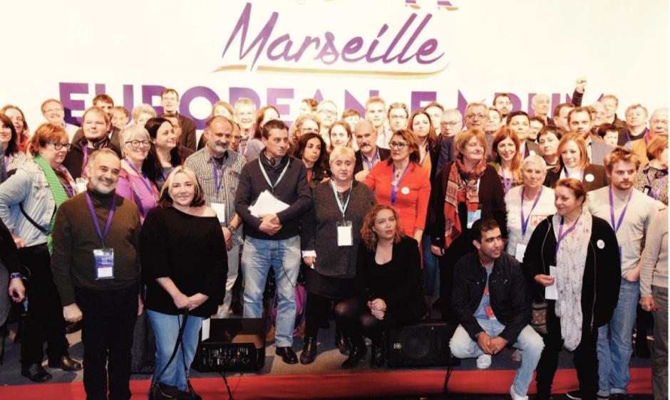 L'Europe des gauches trouve son unité à Marseille