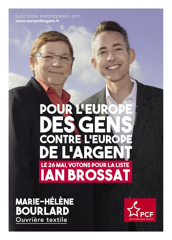 Européennes. Faire un trait d'union entre les luttes et le vote pour la liste Ian Brossat