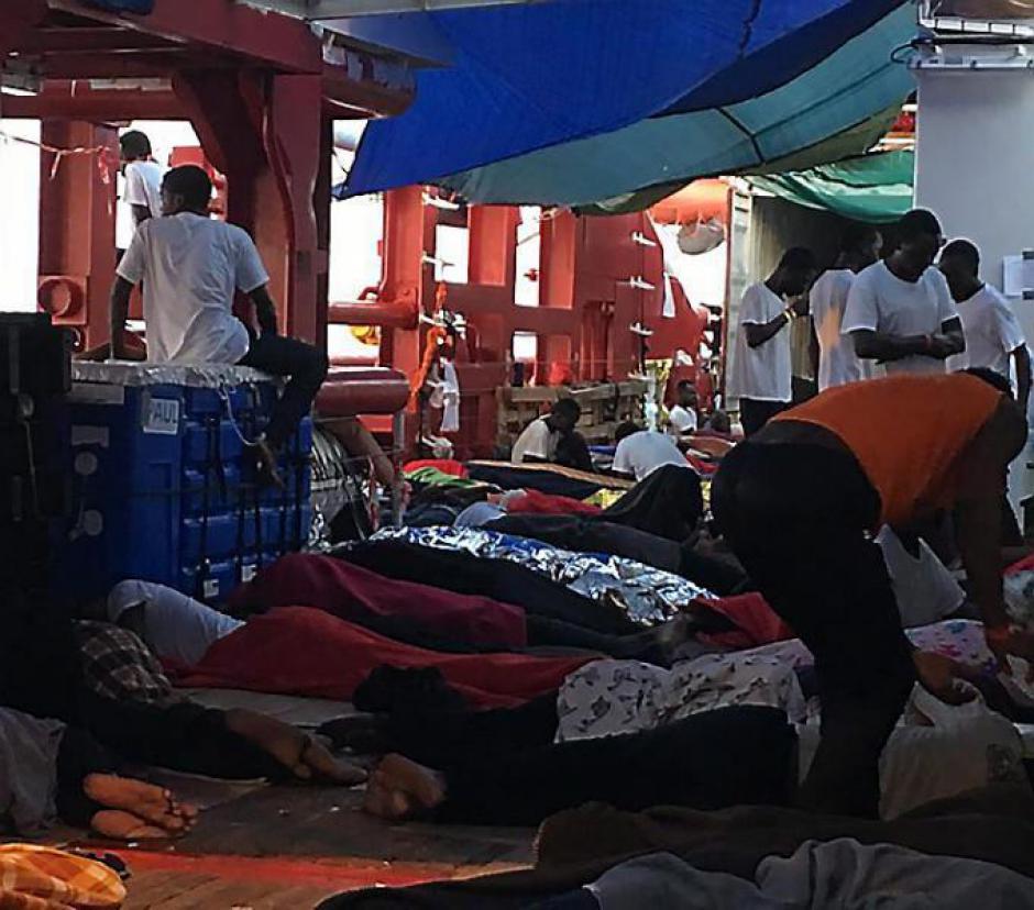 « Ocean Vicking ». Six pays se répartissent les 356 réfugiés
