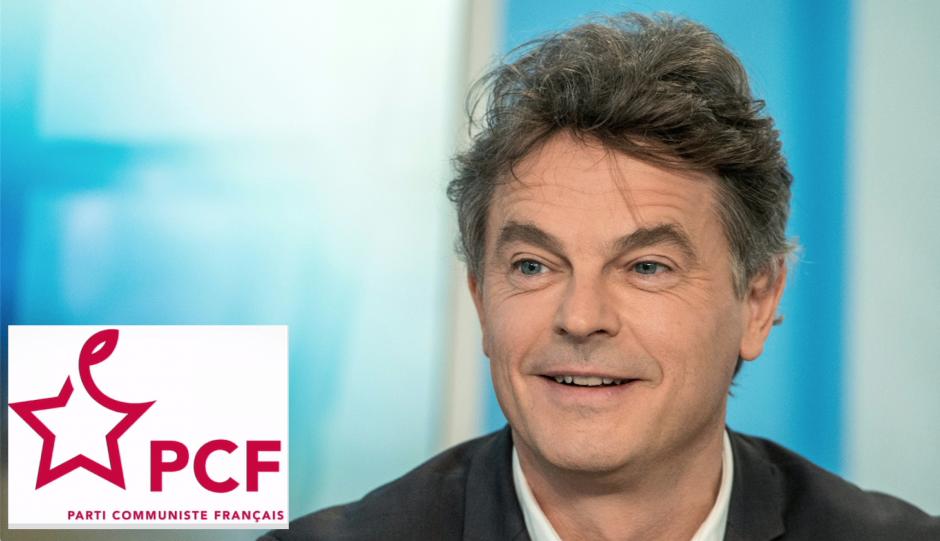 Le nouveau secrétaire national du PCF. Fabien Roussel venu du Nord