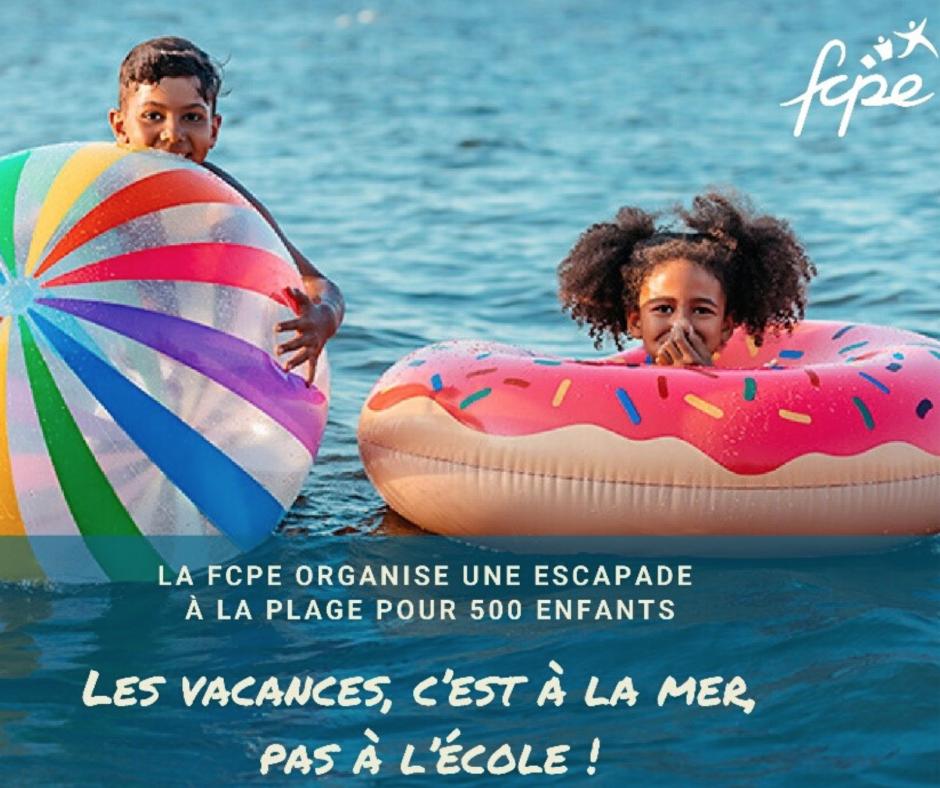 « Les vacances, c'est à la mer, pas à l'école ! Des enfants des P.O. se rendront à Port-La-Nouvelle ce dimanche 26 juillet »