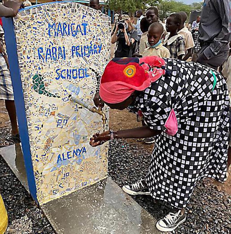 Alénya solidaire avec le Kenya. À l'école de Rabaï on a dansé et chanté (L'Indep)