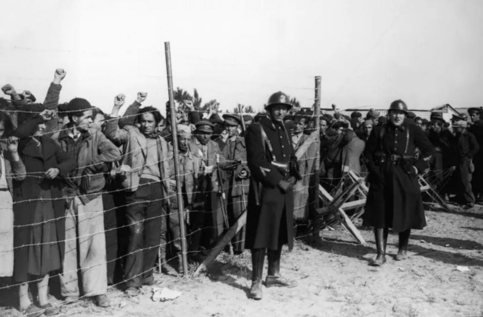 Hommage aux femmes républicaines espagnoles internées au camp d'Argelès (L'Indep)