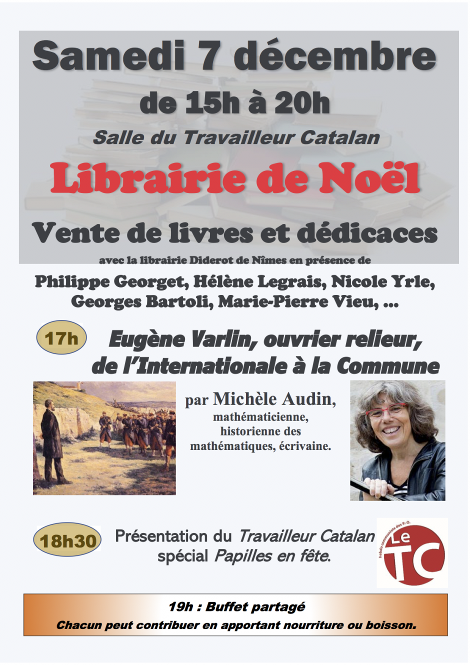 Librairie de Noël du Travailleur Catalan