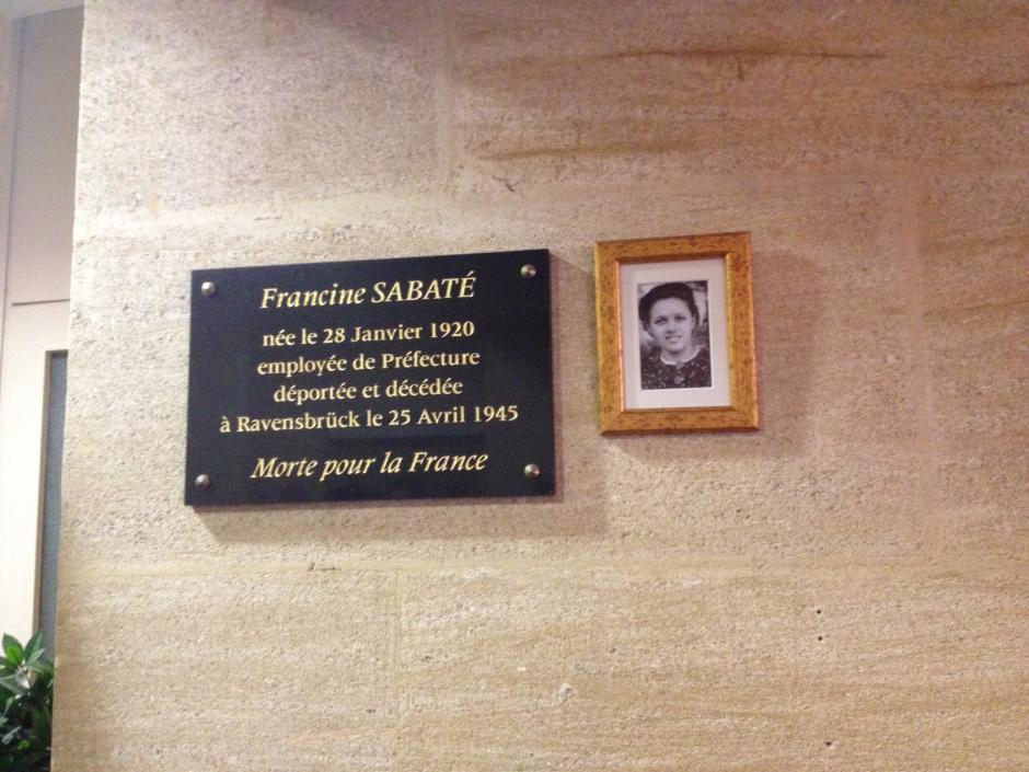 Hommage à Francine Sabaté