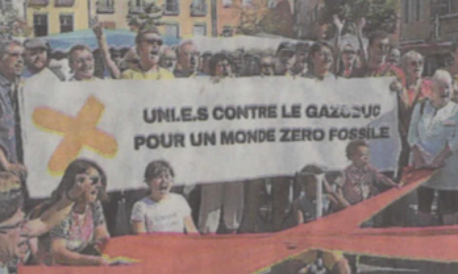 Le collectif contre le gazoduc attaque la commission européenne