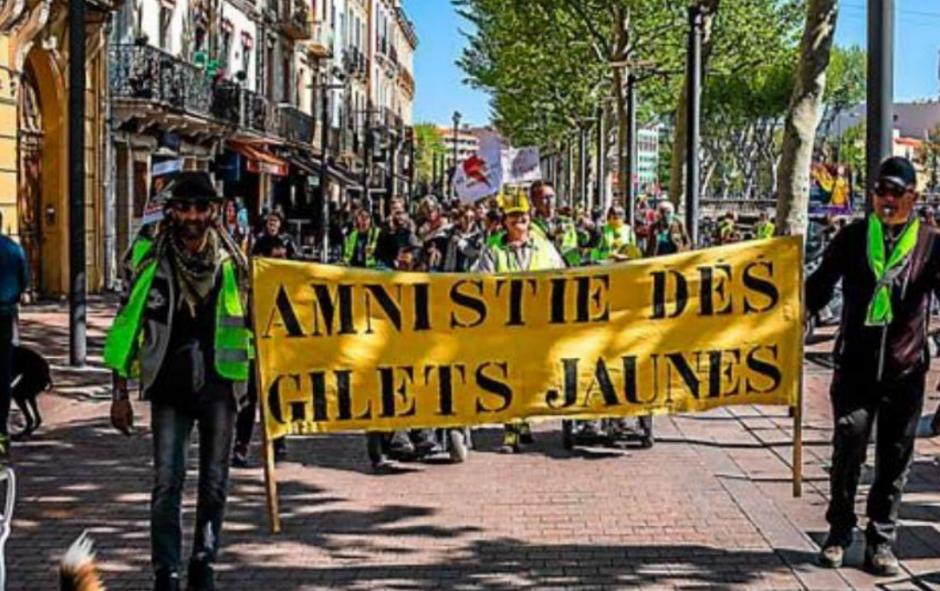 Un collectif dans la rue pour réclamer le droit de manifester
