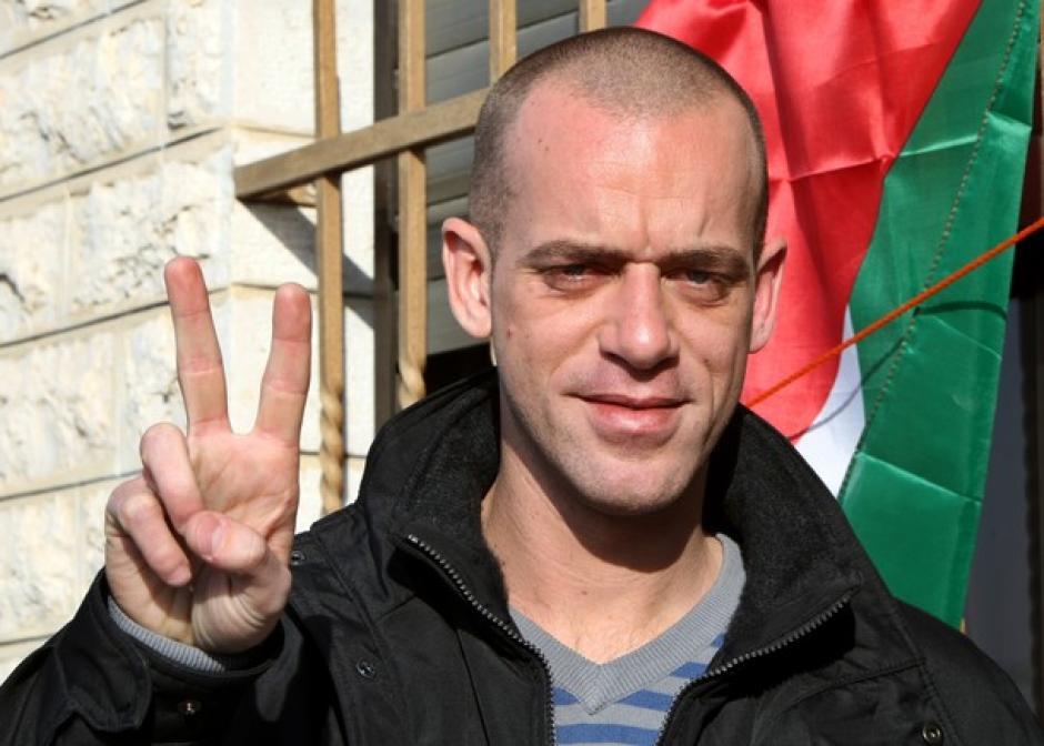 Semaine de la Palestine dans les P.O. visite de Salah HAMOURI