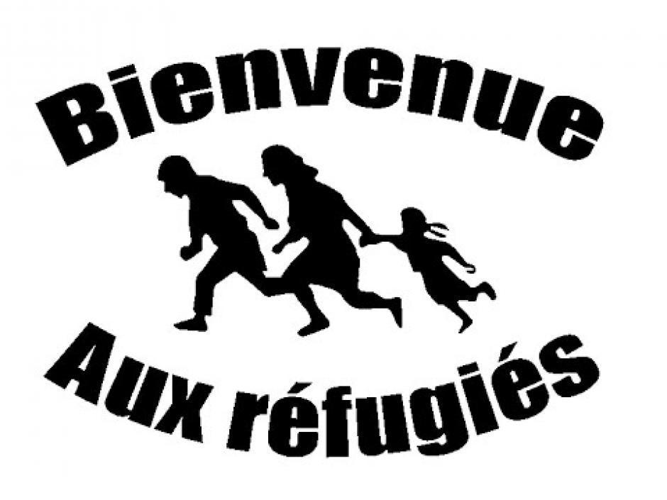 « Réfugiés, migrants, chez nous, c'est chez vous »…