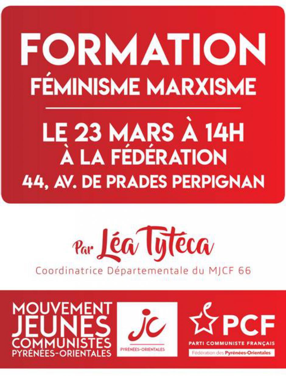 Formation féminisme marxisme