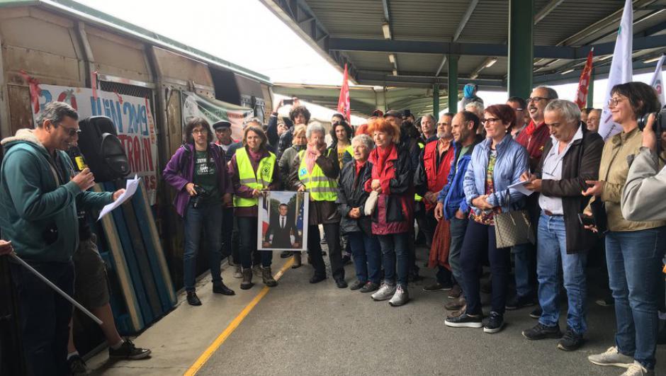 Le train des primeurs Perpignan-Rungis. Une solution économique et écologique