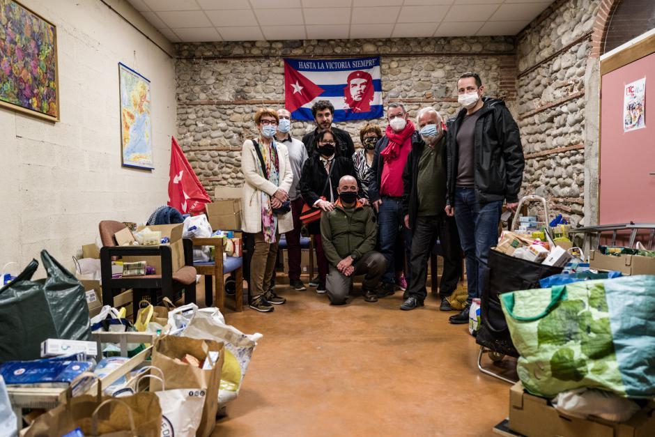 Pyrénées-Orientales. Les communistes récoltent 3,5 tonnes de produits de première nécessité pour les étudiants