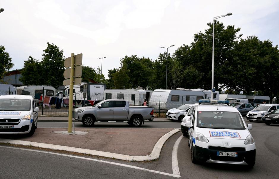 Perpignan. La police débranche les gens du voyage installés au parc des expositions