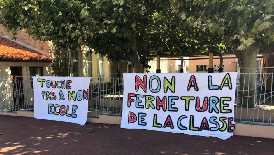 Trente élèves par classe en moyenne à Port-Vendres, Trouillas et Passa