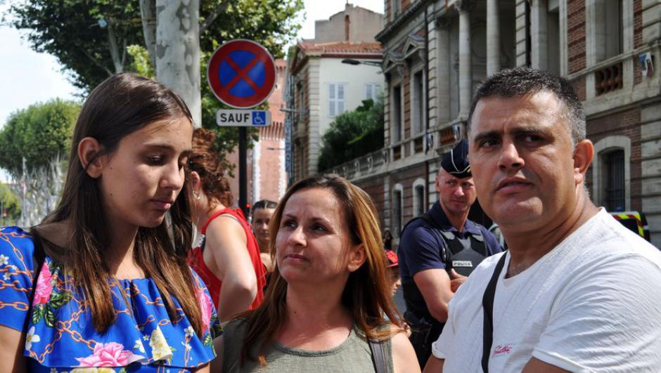 La famille albanaise renvoyée chez elle par avion hier matin
