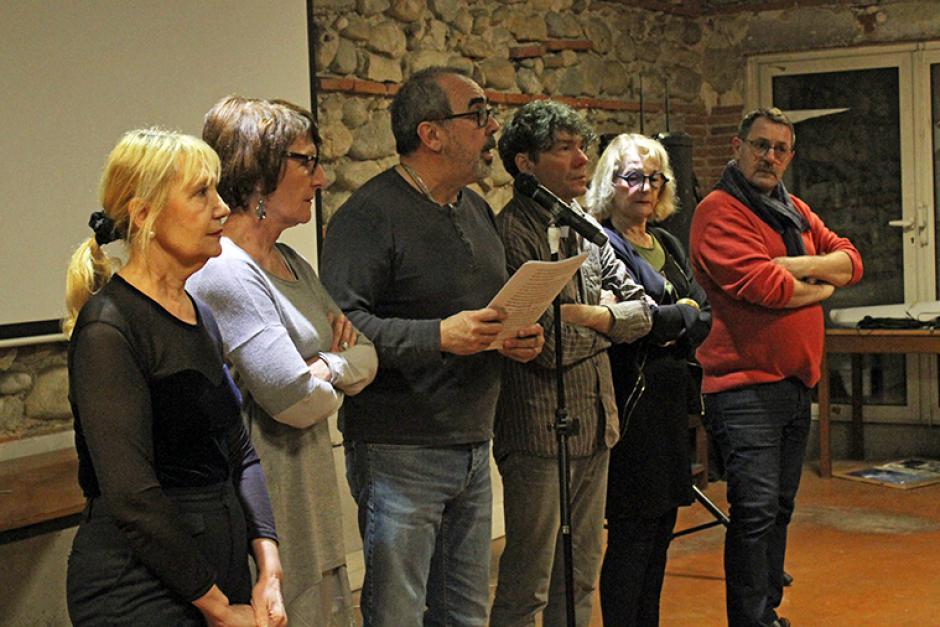 Vœux des communistes des Pyrénées-Orientales. Allocution de Nicolas Garcia