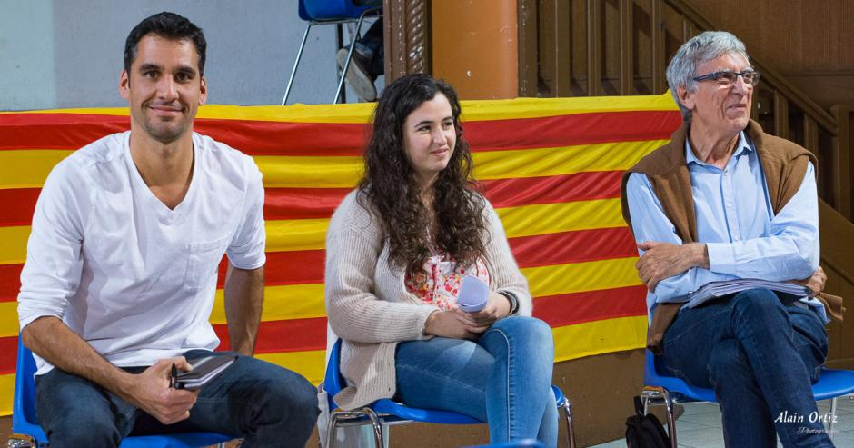 3ème circonscription des Pyrénées-Orientales. Rencontre avec Léa Titéka et Pierre Serra à Vinça