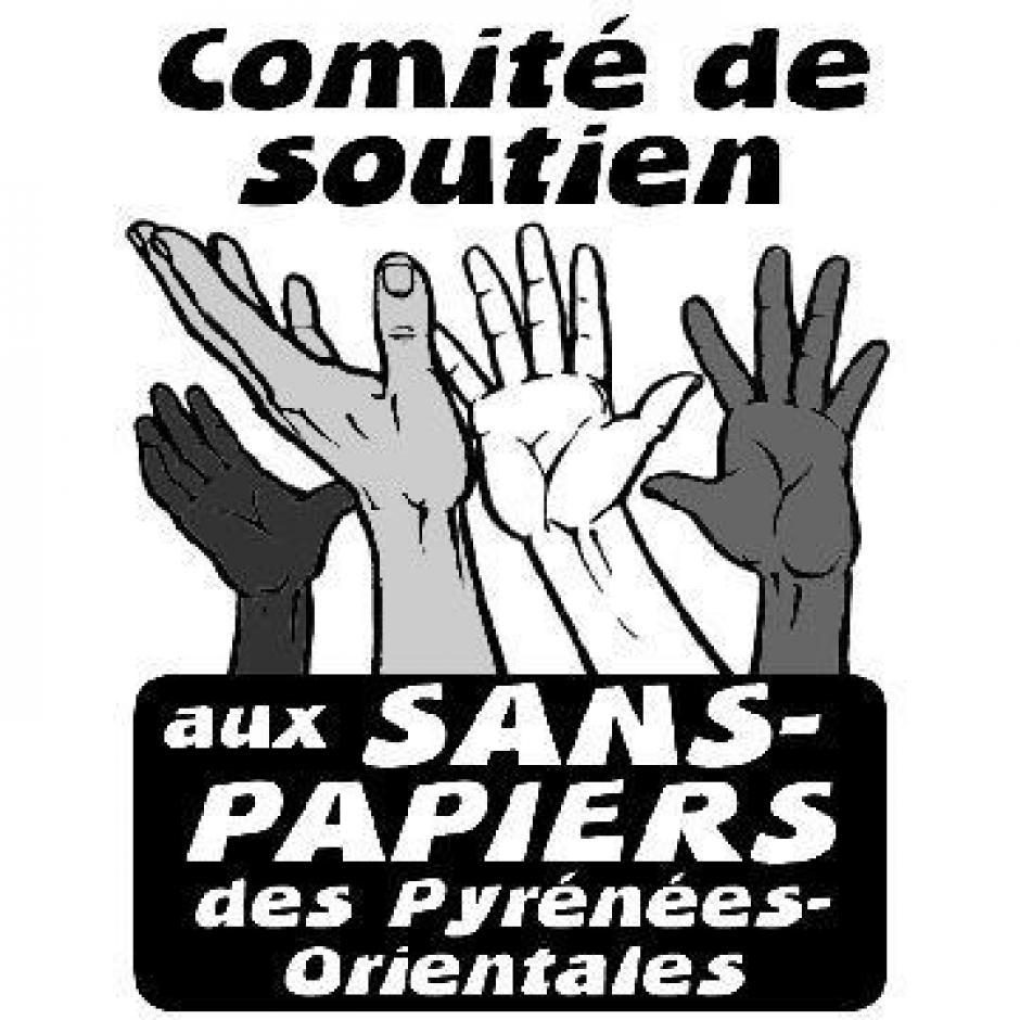 Appel aux dons par le comité de soutien aux sans-papiers