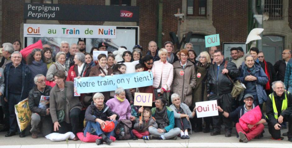 Rapport Spinetta. Le Collectif « Oui au Train de Nuit 66 » communique.