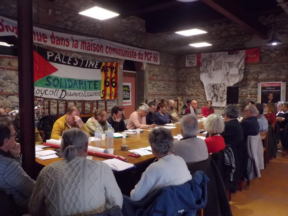 Assemblée générale de l'Association France Palestine Solidarité 66