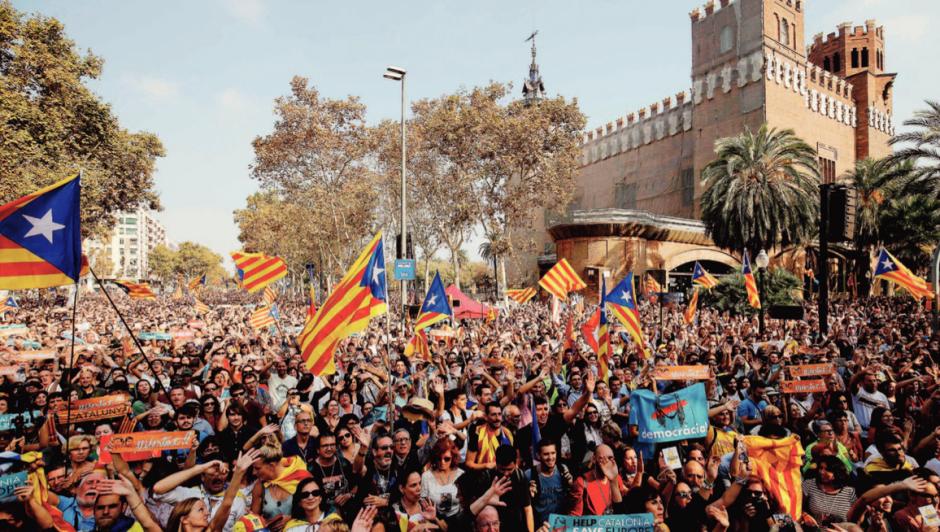 Catalogne. Proclamation d'indépendance et mise sous tutelle