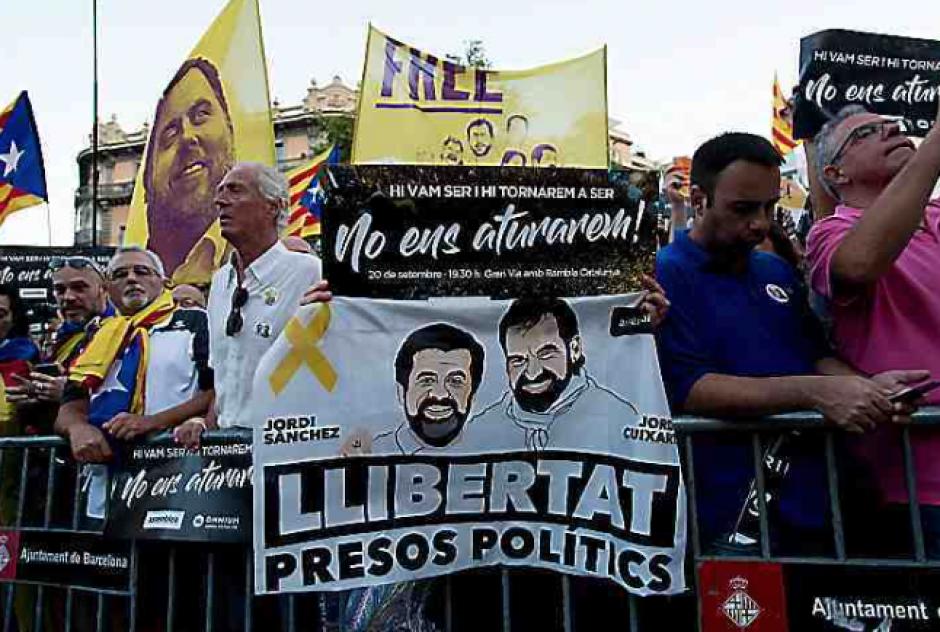Catalogne. Triste anniversaire pour les Jordis