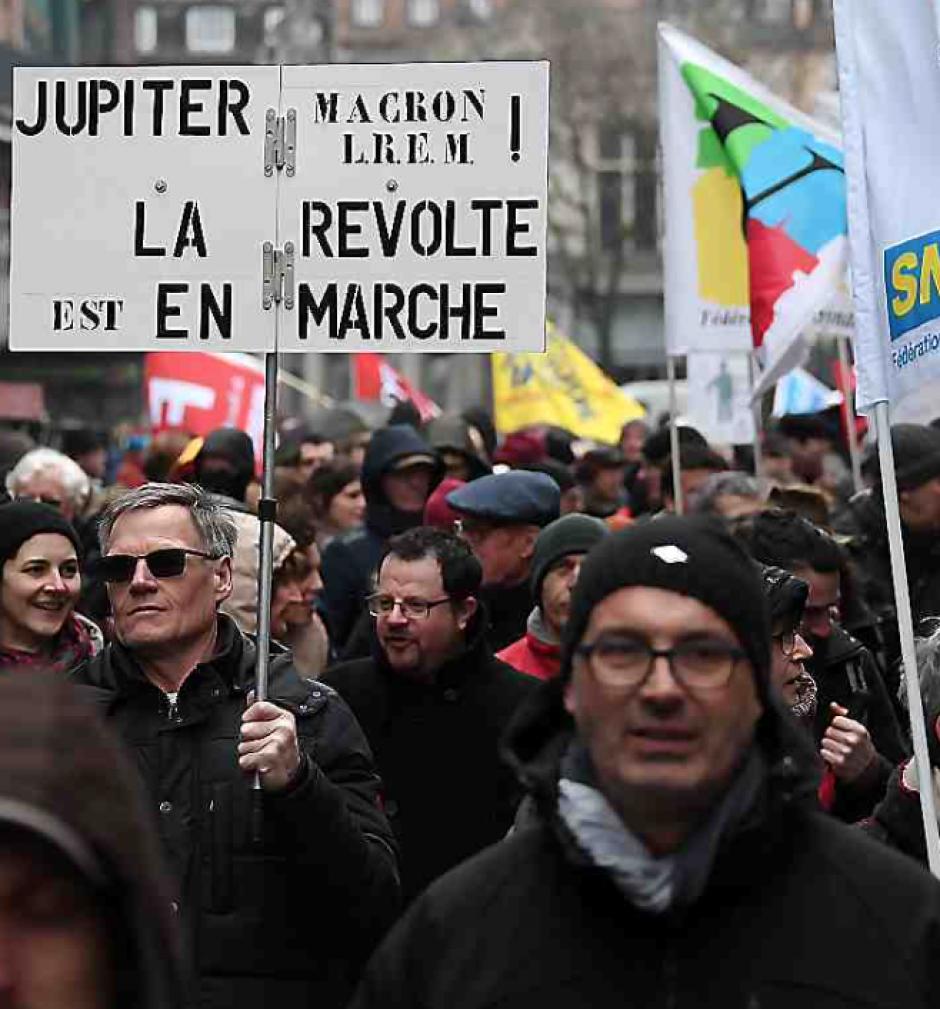 Un rassemblement de près de 500.000 personnes selon les syndicats