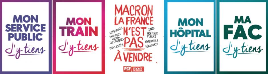 Manif' du 22 mai. Appel du PCF… « Les services publics sont la propriété de la nation »