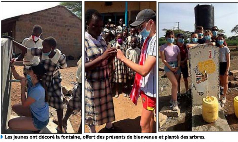 Alènya. Voyage au Kenya pour bâtir un monde pacifique de fraternité (L'Indep)