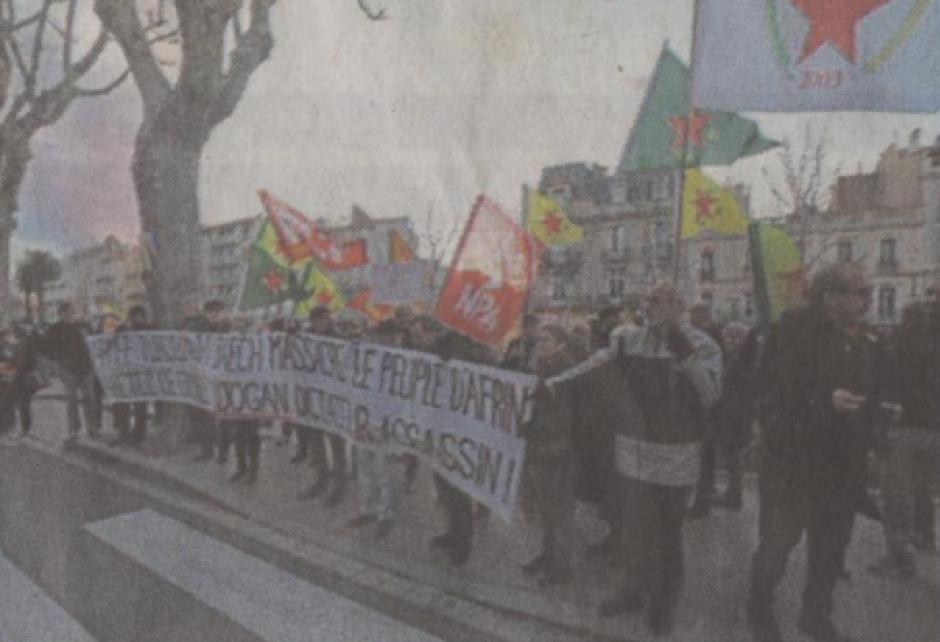 Perpignan. Manifestation de soutien aux Kurdes de Syrie