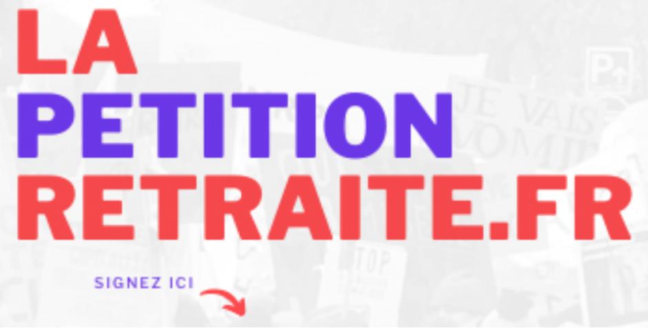 Retraites. Grande pétition unitaire pour le retrait de la réforme